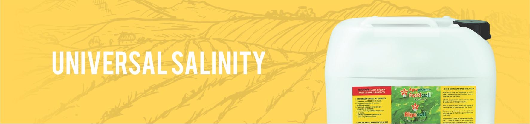 Universal Salinity